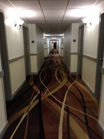 Moses Lake, WA: hallway