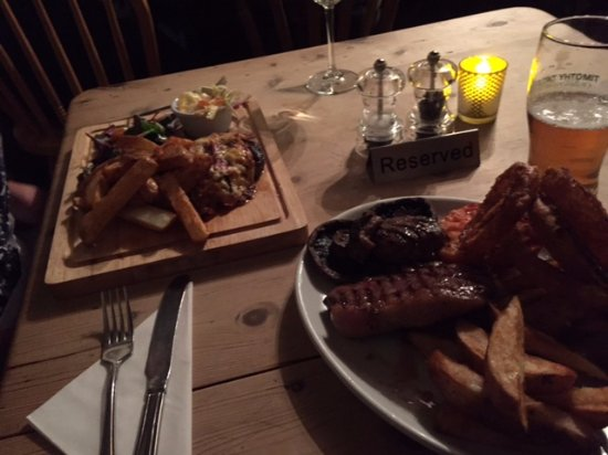 Bridgwater, UK: A proper Somerset supper