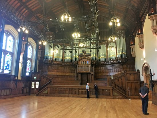 Guildhall: Special building for Derry people.