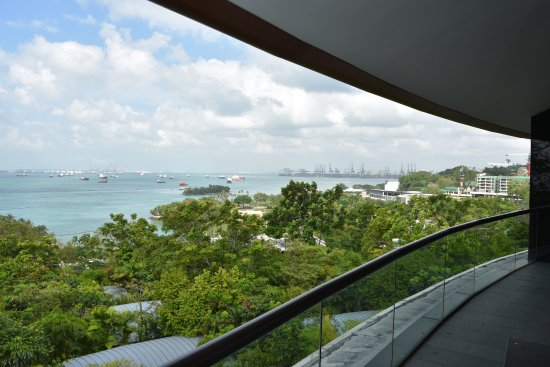 Capella Singapore: Amazing views from the Sentosa Suite 805
