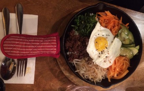 Thornhill, Canada: Bimbambop in a skillet