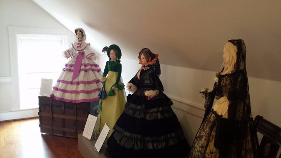 Salem, VA: Life Size Doll exhibit in the Attic.