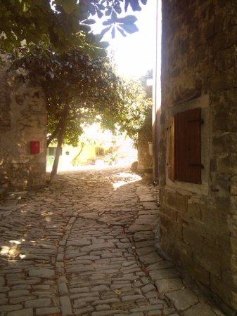 Groznjan, كرواتيا: vicolo