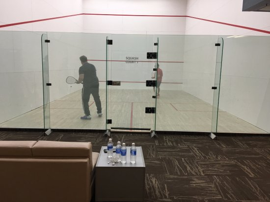 Fort McMurray, Canadá: squash