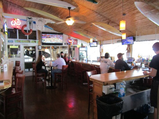 Ocean Isle Beach, NC: Inside bar area