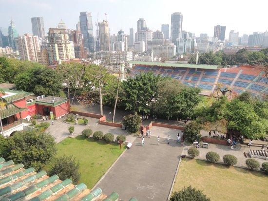 Guangzhou Museum: 廣州博物館頂外望