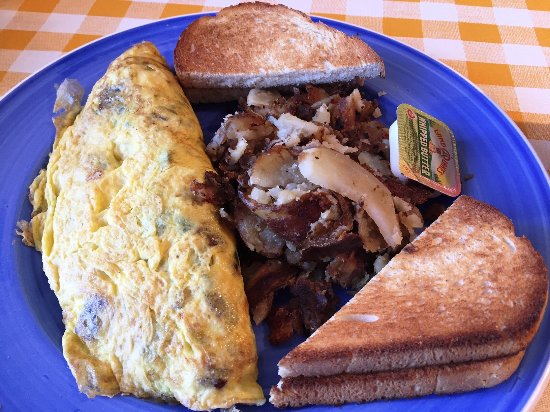 Wadsworth, OH: DIY Omelet and hash browns