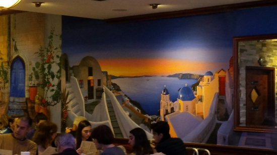 Astoria, Estado de Nueva York: beautiful santorini mural