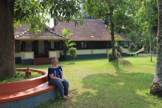 The Pamba Heritage Villa: The traditional Homestay building