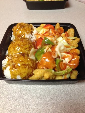 Maumee, OH: Family Pack Sweet and Sour Chicken...yum and good value!