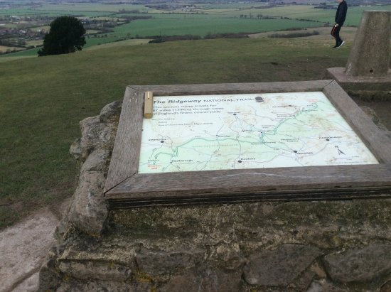 Berkhamsted, UK: Map of the National Trail