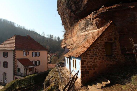 Graufthal, France: maisons