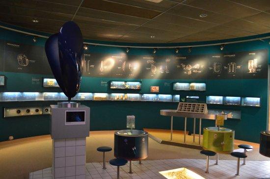 Flemish Visitors and Nature Education Centre: L'intérieur du centre