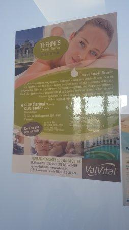 Lons-le-Saunier, Francia: Valvital - Thermes Lédonia
