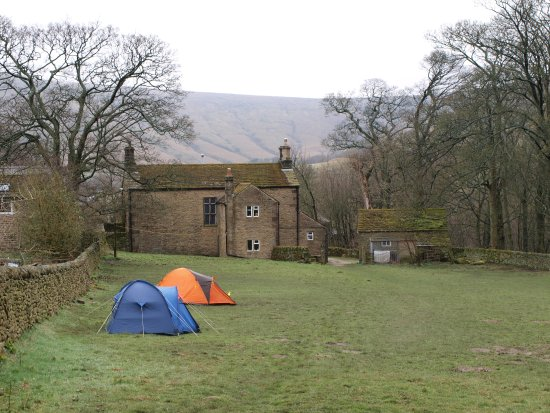 Edale, UK: Small camp field