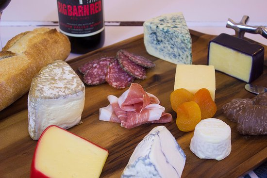 Cambridge, VT: A selection of cheeses we use for our summer and fall Gourmet Cheese Plates.