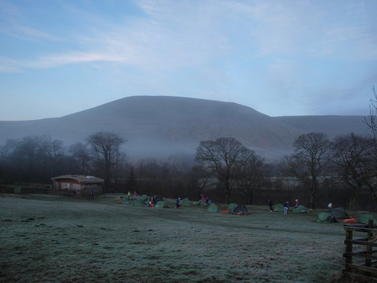 Edale, UK: goodmorning campers