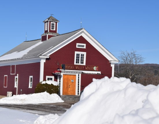 Cambridge, VT: Open year-round at Boyden Valley Winery & Spirits!