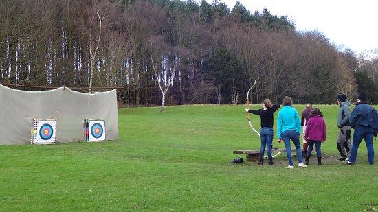 Beamish, UK: Archery
