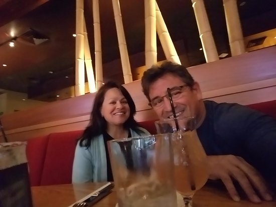 Chandler, AZ: Me and my Wife at Roy's