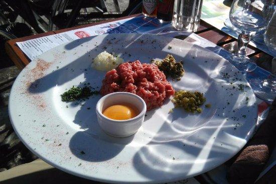 Haute-Savoie, France: Steak Tartare