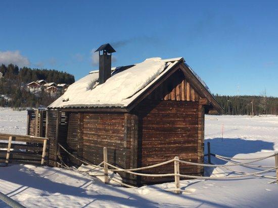 Hyrynsalmi, Suomi: Smoke Sauna
