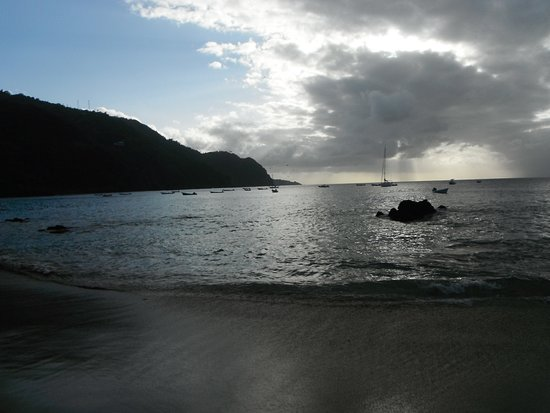 Castara, Tobago : Evening swim at Little Bay