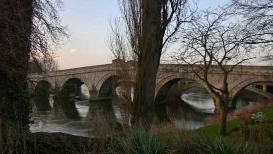 Atcham, UK: Bridge Over River Severn