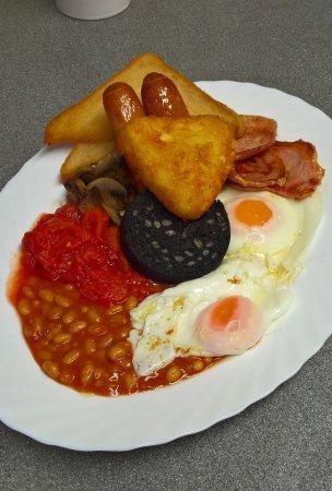 Meriden, UK: jumbo breakfast