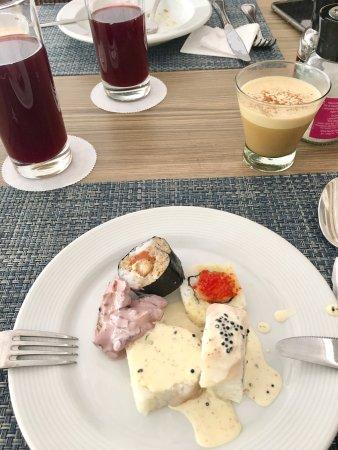 Casa Andina Select Chiclayo: Muy rico el ceviche y los makis recomendado