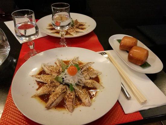 Magokoro: Dorade mi-cuit + beignets de brioche