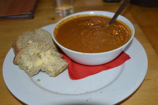 Tir na nOg: Parsnip Paprika Cumin and Coriander Soup with Homemade Bread