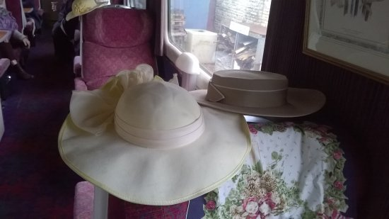Midsomer Norton, UK: two more hats