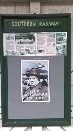 Midsomer Norton, UK: old-fashioned poster