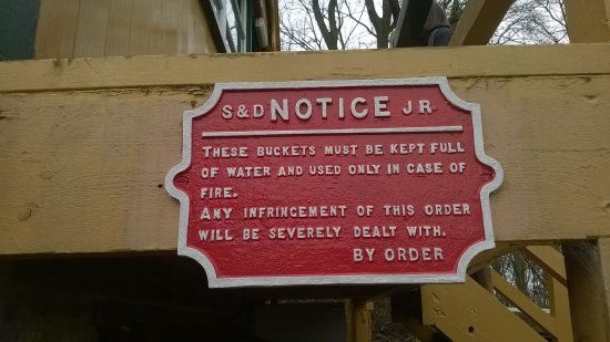 Midsomer Norton, UK: notice