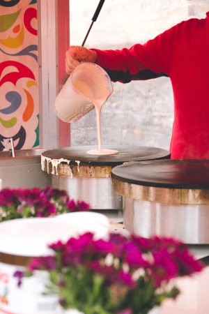 Temple Bar Food Market: Crepes in the City