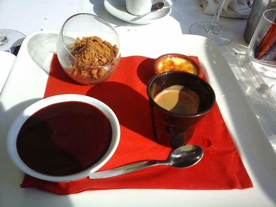 Via Cassia : Café gourmand