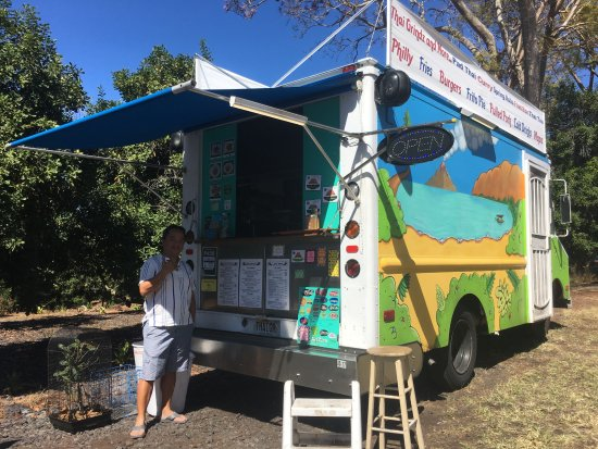 Captain Cook, Hawái: Love this food truck