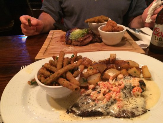Amite, LA: Steak and Red Fish dinner!  Excellent