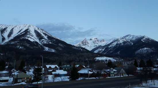 Fernie, Kanada: View from the balcony