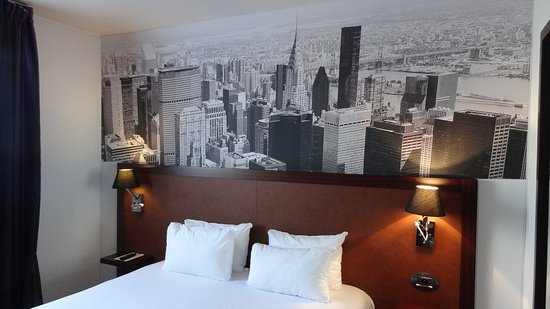 Qualys-Hotel Nanterre La Defense: Belle décoration