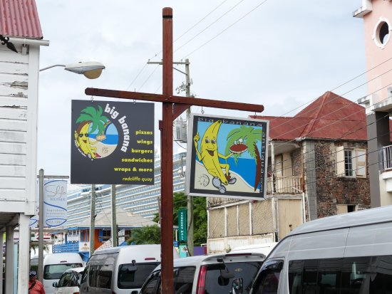St. John's, Antigua: just around the corner from the Quay, more exciting