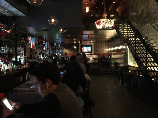 Photo of American Restaurant Latitude Bar & Lounge at 783 8th Ave, New York City, NY 10036, United States