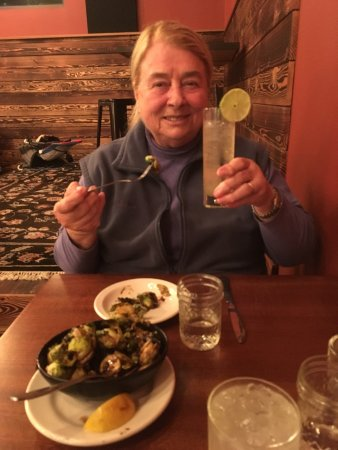 Freeland, WA: Braised Brussels Sprouts