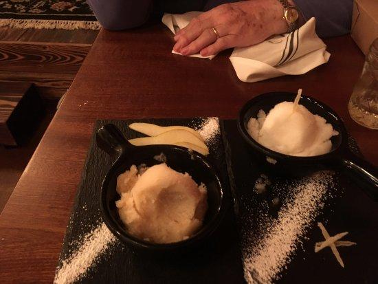 Freeland, WA: Pear & Ginger Sorbet!