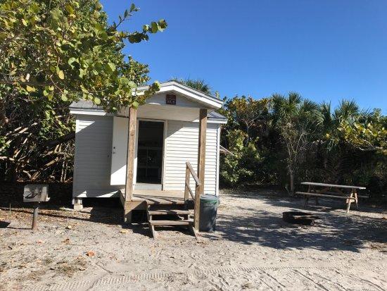 Boca Grande, FL: exterior de la cabaña
