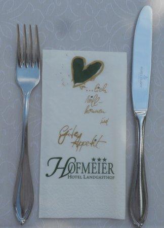 Hetzenhausen, Tyskland: Freundlicher Empfang