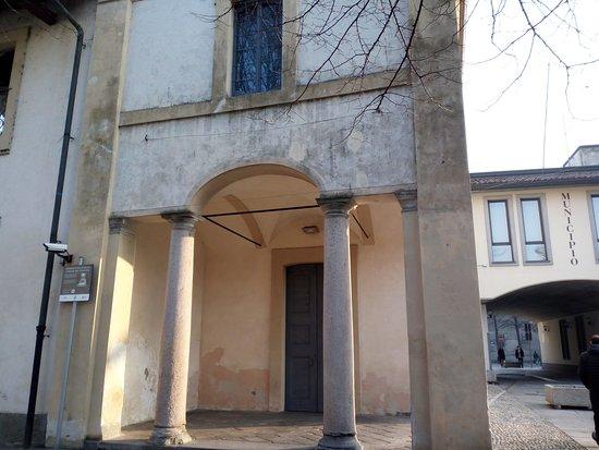 Cesano Maderno, Ιταλία: Particolare della facciata
