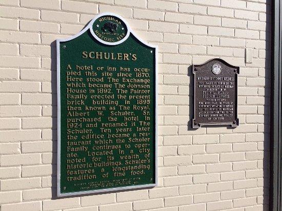 Marshall, MI: Historic plaques
