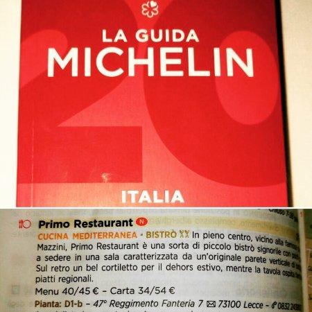Primo restaurant in lecce restaurant bewertungen for Guida michelin puglia